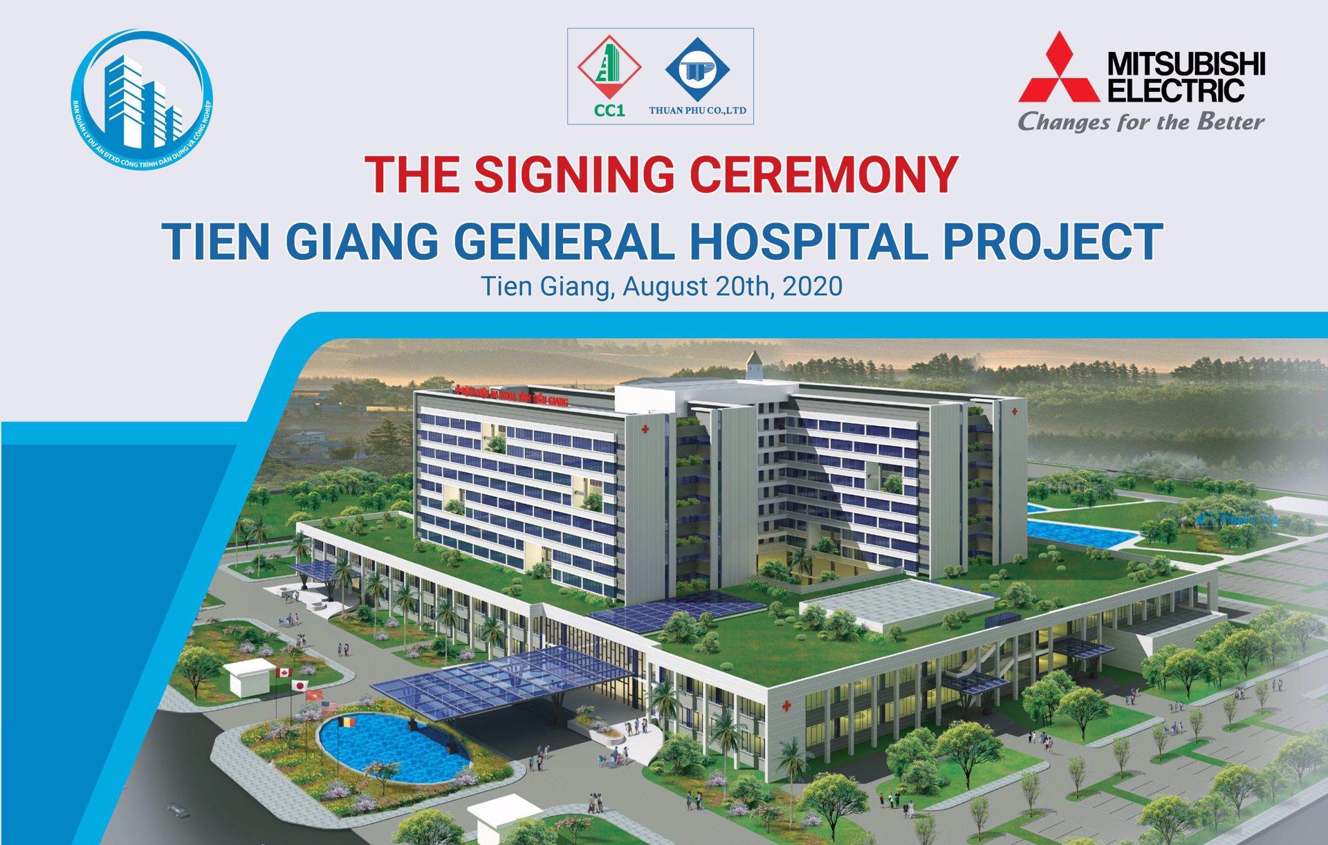 Mitsubishi Electric Việt Nam tự hào cung cấp giải pháp điều hòa không khí cho dự án Bệnh viện đa khoa tỉnh Tiền Giang
