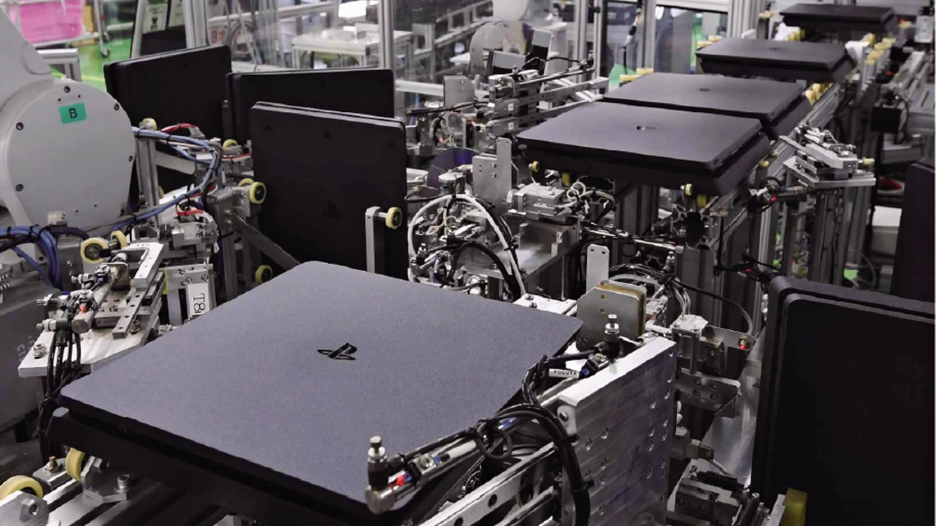 Heart and soul of the Sony manufacturing: a nearly all-automated factory